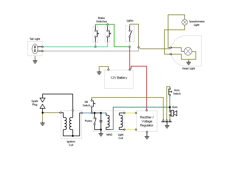 wiring diagram 12v conversion